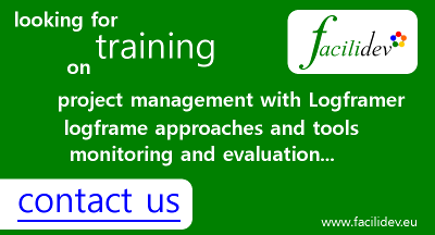 Looking for training on project management with Logframer? Contact www.facilidev.eu